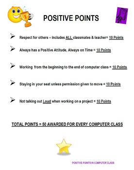 Positive Points in Computer Class