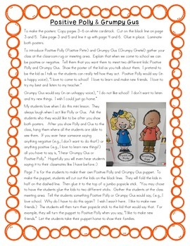 Positive Polly and Grumpy Gus: Staying Positive at School
