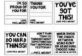 Positive Post It Notes