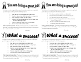 Positive Postcard Home Classroom Management