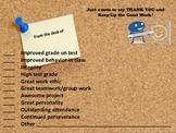 Positive Postcard Teacher/Parent Communication