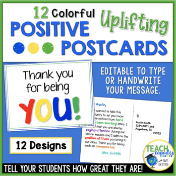 Positive Postcards for Your Students