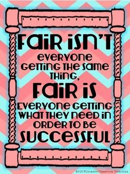 Positive Poster: Fair [NO PREP]