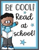 Positive Posters for Classroom - Be Cool at School