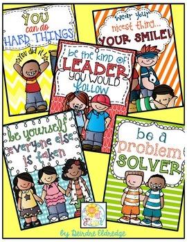 Positive Posters!! {freebie}
