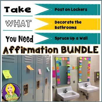 Positive Posties--Affirmation Bundle