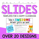 Positive PowerPoint Templates {Editable}
