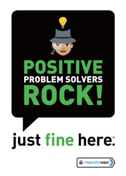 Positive Problem Solvers Rock!
