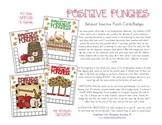 Positive Punches! Apples Behavior Incentive Punch Cards/Badges