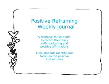Positive Reframing Weekly Journal