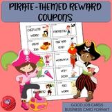 Positive Reinforcement Cards/Reward Coupons PIRATE THEME