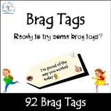 Brag Tags: Incentives for Academic Goals