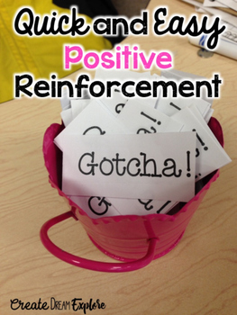 Positive Reinforcement Made Easy - Gotcha