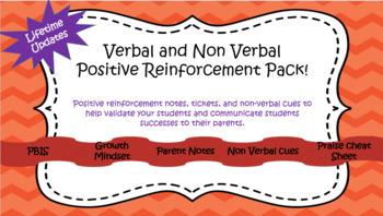 Positive Reinforcement Mega Pack- Behavior Intervention- Lifetime Updates