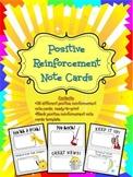 Positive Reinforcement Note Cards