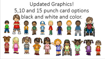 Positive Reinforcement- Punch Card Behavior Intervention.- Lifetime Updates