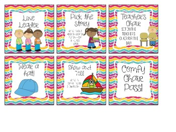 Positive Reinforcement Reward Cards