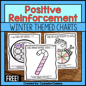 Positive Reinforcement/Reward Charts: Winter Themed - Free