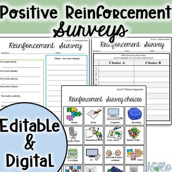 Positive Reinforcement Survey