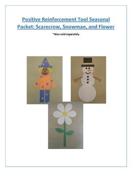 Positive Reinforcement Tool Seasonal Packet: Scarecrow, Sn