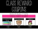 Positive Reward Coupons
