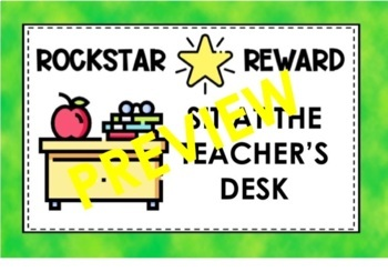 Positive Reward Coupons for Students and Class