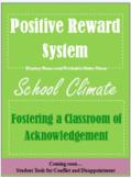 Positive Reward System for School Climate. Six Pillars. Positive