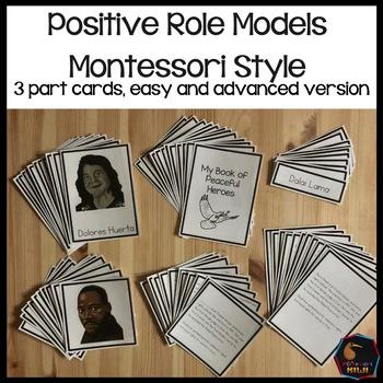 Positive Role Models 3 part Cards