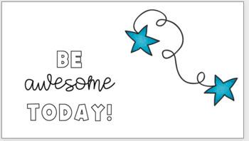 Positive Sayings Classroom Printable Signs By Keegan For Kids Tpt