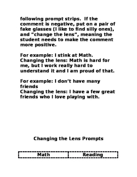 Positive Self Image Activities for the K-5 Classroom