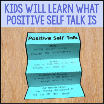 Positive Self Talk Activities