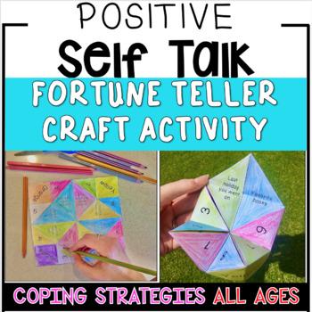 Positive Self Talk Activities -  Coping Skills Craft Activity