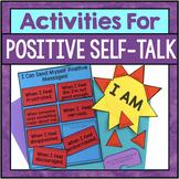 Positive Self Talk Activities For Coping Skills, Self Este