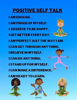 For talk positive kids self Kids Positive