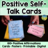 Positive Self-Talk Cards - Distance Learning