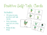 Positive Self-Talk Cards