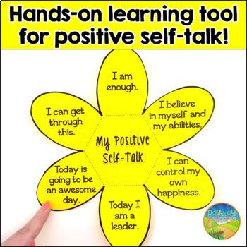 Positive Self Talk Flower Craft