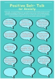 Positive Self-Talk For Anxiety Worksheet