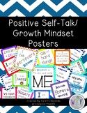 Positive Self-Talk/Growth Mindset Posters