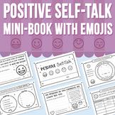Positive Self-Talk Mini-Book With Emojis (Distance Learning)