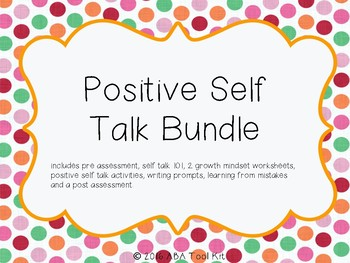 Positive Self Talk Packet
