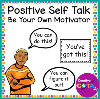 Positive Self Talk Quotes And Activities By Creativecota Tpt