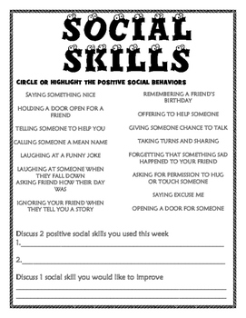 Positive Social Skills