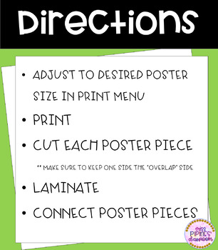 Positive Staff Posters