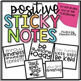 Positive Sticky Note Printables!