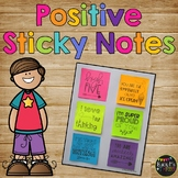 Positive Sticky Notes for Students