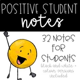 Positive Student Notes