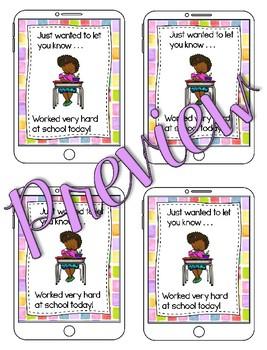 Positive Text Messages - Parent Communication