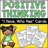 "Positive Thinking CBT ""I Have, Who Has"""