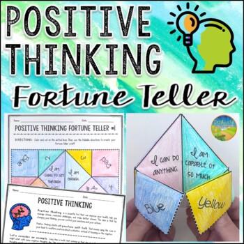 Positive Thinking Fortune Teller Craft